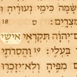 My husband (ishi) pictured in the Hebrew text of Hosea 2:16.